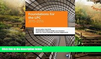 Must Have  Foundations for the LPC 2015-16 (Blackstone Legal Practice Course Guide)  READ Ebook