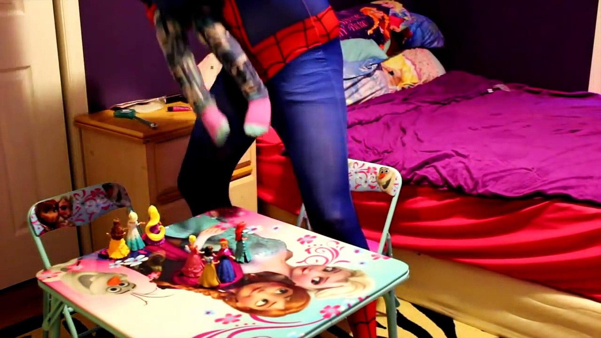 SpiderMan vs Frozen Elsa Kid - Real Life Superheroes Movie | Fun Kids Movie in Real Life