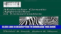 Ebook Molecular Genetic Approaches in Conservation Free Read