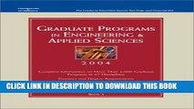 Ebook Grad Guides Bk5: Engineer/Appld Sci 2004 (Peterson s Graduate Programs in Engineering