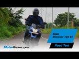 Bajaj Discover 125 ST Road Test | MotorBeam