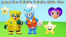 Special Agent Oso - Twinkle Twinkle Little Star Song - Lullaby Agent Oso for Kids