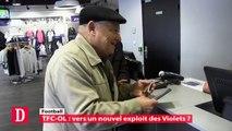 TFC-OL : vers un nouvel exploit des Violets ? Microtrot' des supporters