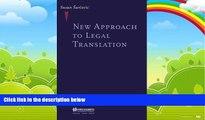 Big Deals  New Approach To Legal Translation  Best Seller Books Best Seller