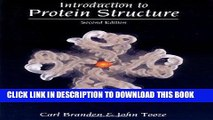 Best Seller Introduction to Protein Structure Free Read