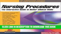 [READ] EBOOK Nursing Procedures: The Interactive Guide to Better Clinical Skills (CD-ROM for