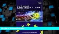 Big Deals  EU Public Procurement Law: Second Edition (Elgar European Law series)  Best Seller