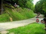 course de côte de barr descente 2006 side + quad