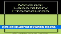 [FREE] EBOOK Medical Laboratory Procedures ONLINE COLLECTION