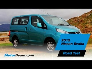 2012 Nissan Evalia Road Test