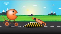 Colors for Children to Learn with Packman Cartoon Cars - Colours for Kids to Learn - Learning Videos