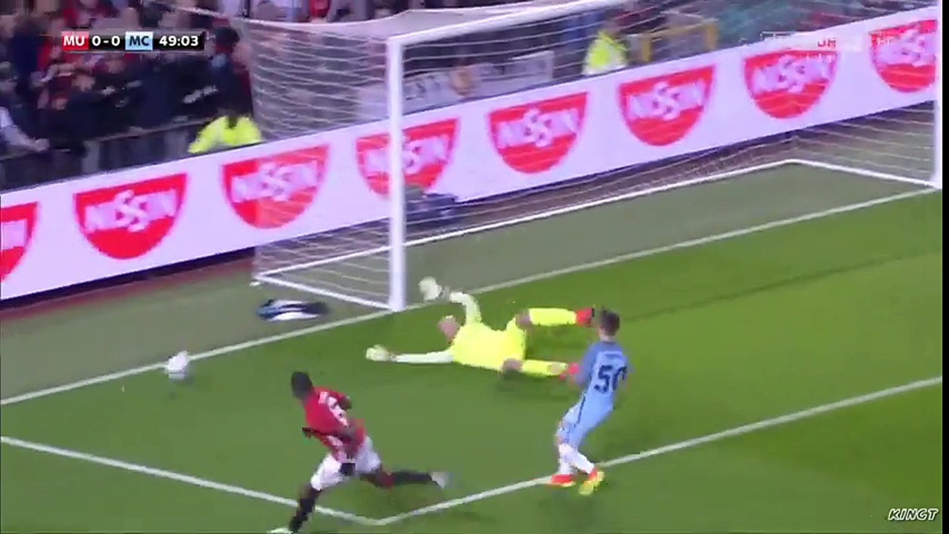 Manchester United vs Manchester City 1-0  English Highlights  League Cup 2016