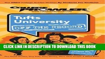 [PDF] Tufts University: Off the Record - College Prowler (College Prowler: Tufts University Off