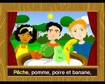 Pomme pêche poire abricot --- Chansons enfantines