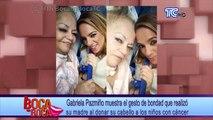 Gabriela Pazmiño muestra el gesto de bondad que realizó su madre al donar su cabello a los niños con cáncer