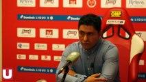 Réactions des deux entraîneurs après la victoire du Stade de Reims face au Havre