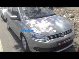 New 2012 Volkswagen Polo, Vento, Skoda Fabia Scout Spied