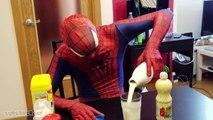 Spiderman vs Batman - Arm Wrestling Challenge - Superhero Movie in Real Life