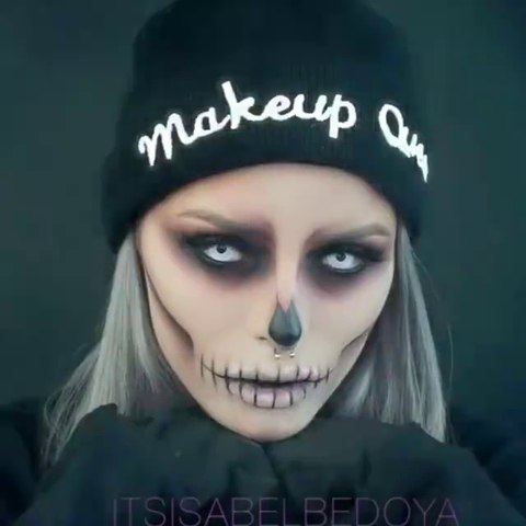 Halloween Skull Makeup How To Do Halloween Makeup Halloween Makeup Tutorial Video Dailymotion