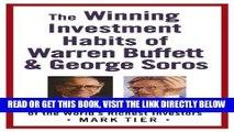 [Free Read] The Winning Investment Habits of Warren Buffett   George Soros Full Online