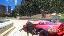 Spiderman, TMNT Tortues Ninja & Flash McQueen Disney cars 2 | Dessin animé pour enfants en français