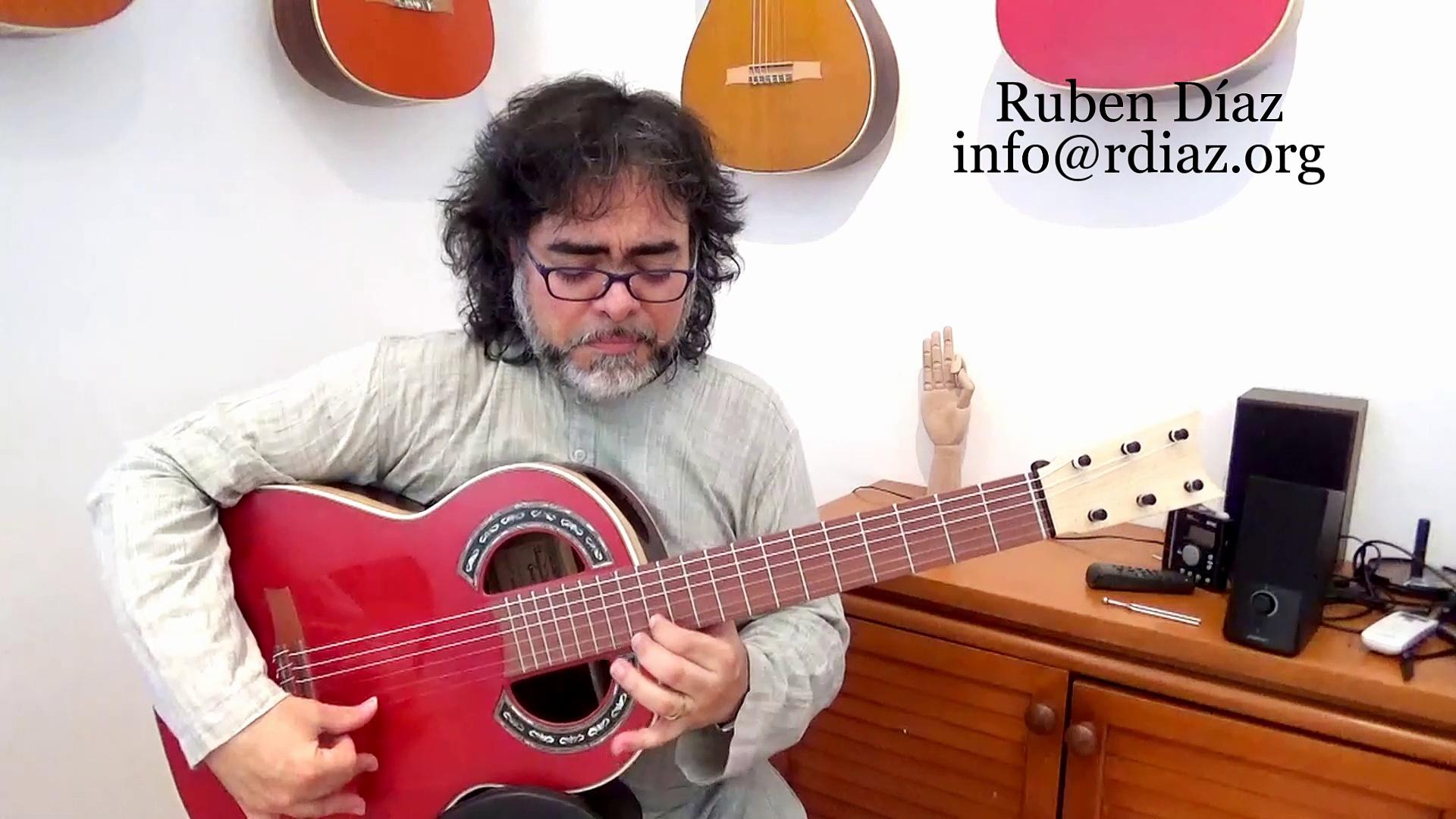 Dogal Maestrale bass set  (The superb Italian strings) Ruben Diaz tips on modern flamenco guitar CFG Spain