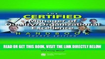 [Free Read] The Certified Manager of Quality/Organizational Excellence Handbook, Fourth Edition