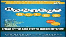[Free Read] Content Rules: How to Create Killer Blogs, Podcasts, Videos, Ebooks, Webinars (and
