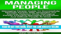 [Free Read] Managing People: Managing People Guide To Successfully Manage People With Strategies