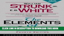 Ebook The Elements of Style, Fourth Edition Free Download