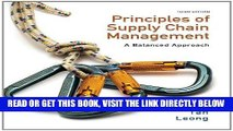 [Free Read] Principles of Supply Chain Management: A Balanced Approach (with Premium Web Site