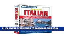 Ebook Pimsleur Italian Basic Course - Level 1 Lessons 1-10 CD: Learn to Speak and Understand