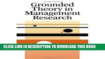Collection Book Grounded Theory in Management Research