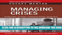 New Book Managing Crises: Expert Solutions to Everyday Challenges