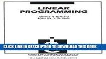 New Book Linear Programming