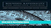 [PDF] Bounded Rationality: The Adaptive Toolbox [Full Ebook]