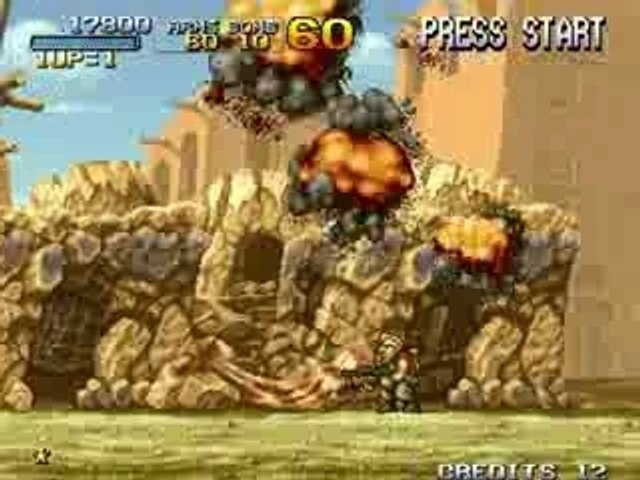 Metal Slug 2 - Extrait Level 1