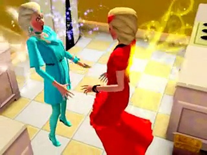 Fight Of frozen Fairy Elsa & fairy fire Elsa