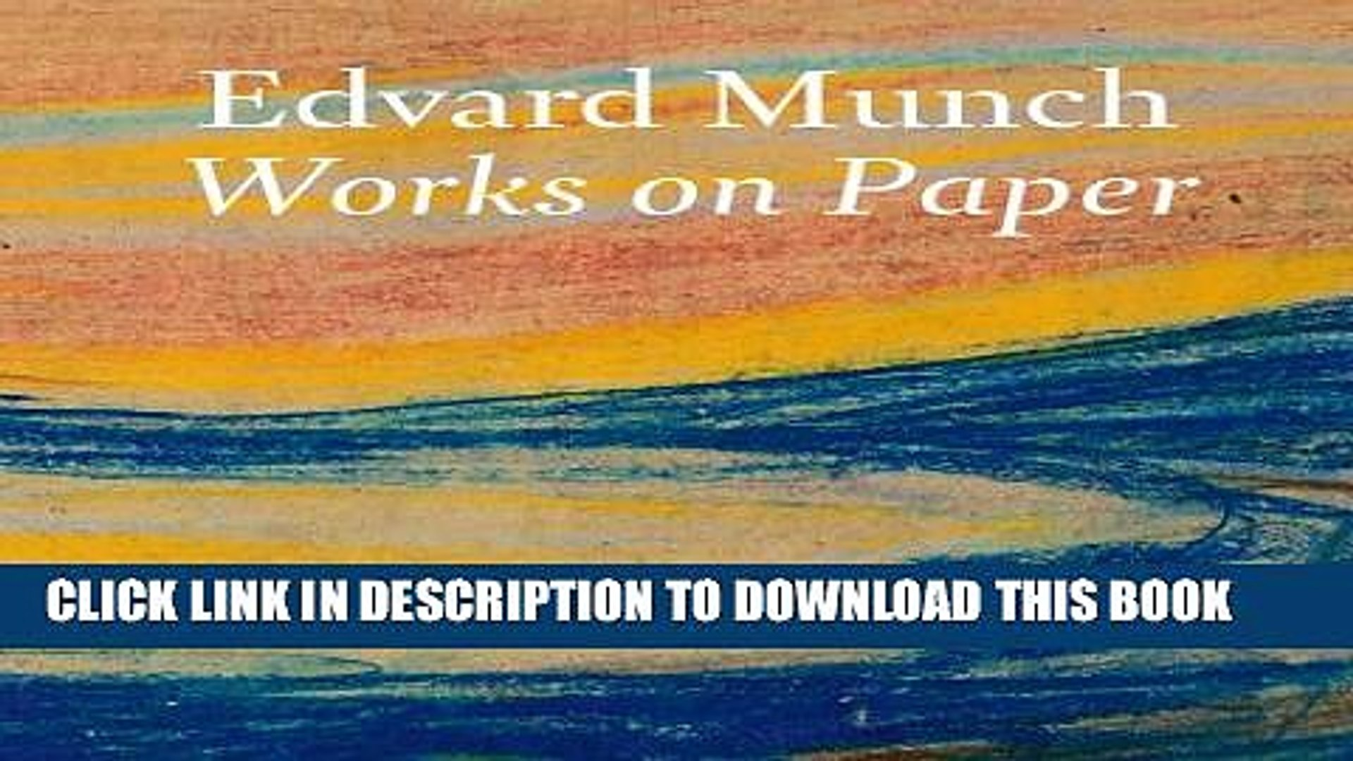 Works on Paper Artists, A-Z Books Edvard Munch dclan si