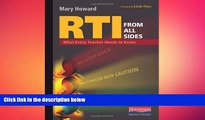 READ book  RTI from All Sides: What Every Teacher Needs to Know  DOWNLOAD ONLINE