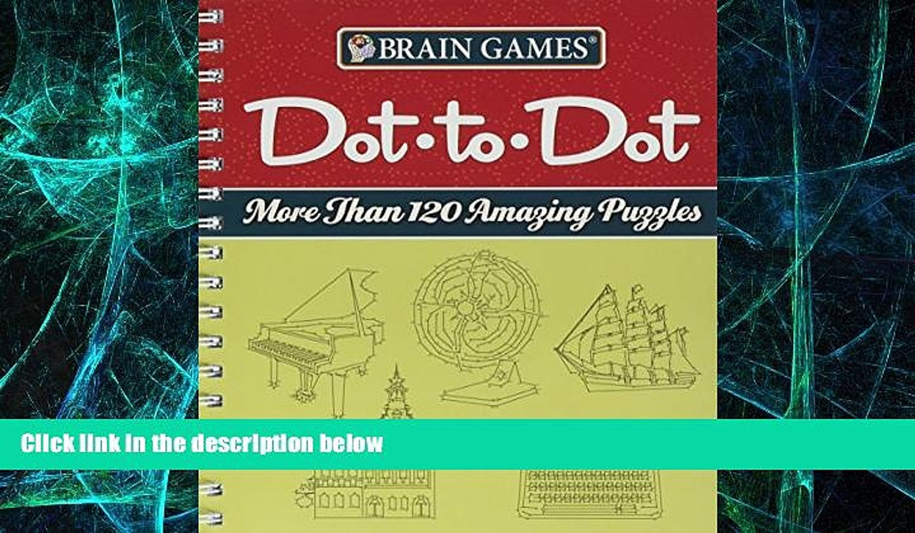 Big Deals  Brain Games Dot to Dot  Free Full Read Most Wanted