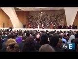 Papa faz primeira aparição pública após anúncio da renúncia