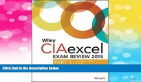 Must Have  Wiley CIAexcel Exam Review 2015, Part 1: Internal Audit Basics (Wiley CIA Exam Review