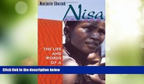 Big Deals  Nisa: The Life and Words of a !Kung Woman  Free Full Read Best Seller