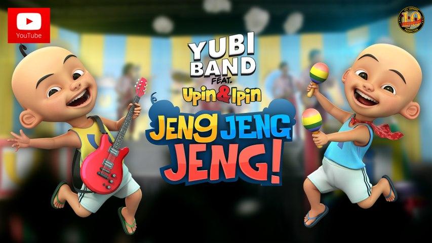 Upin & Ipin Jeng, Jeng, Jeng! - Yubi Band feat. Upin & Ipin [Official Music Video]