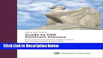 Download Guide to FAR Contract Clauses: Detailed Compliance Information for Government Contracts