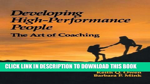 New Book Developing High Performance People: The Art Of Coaching