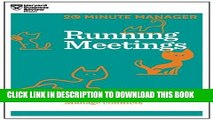 New Book Running Meetings (HBR 20-Minute Manager Series)