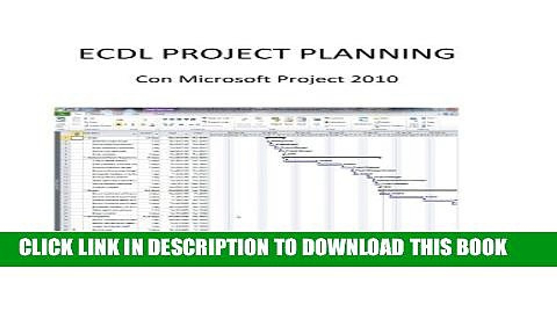 [PDF] Ecdl Project Planning : Con Microsoft Project 2010 (Italian Edition)  Popular Online