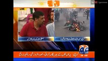 Mustafa Kamal Press Conference on MQM Workers Storming Offices Geo News